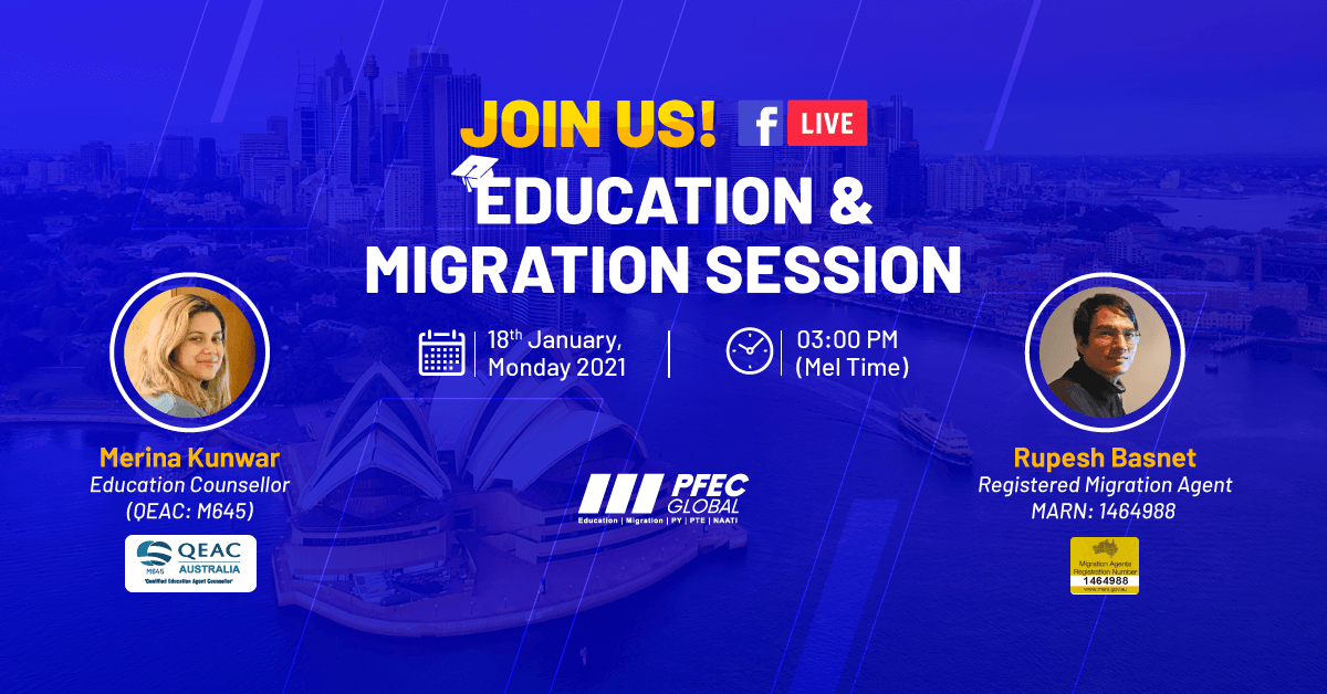 Education and Migration Session FB Live