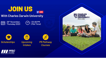 Facebook Live with Charles Darwin University