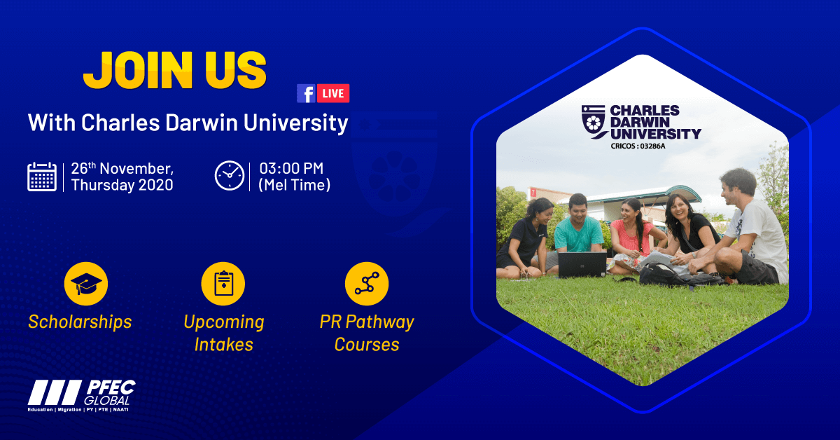 FB Live with Charles Darwin University