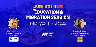 FB Live Education and Migration Session