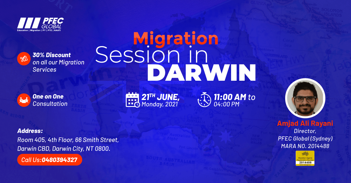 Migration Session in Darwin